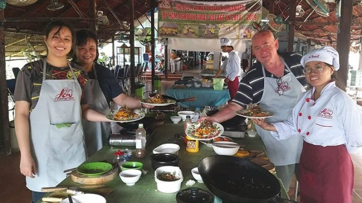 Cooking class in Saigon