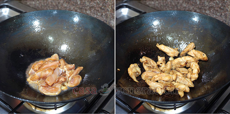 Cooking Basics for Perfect Stir Fries Tip #4: Stir fry the meat