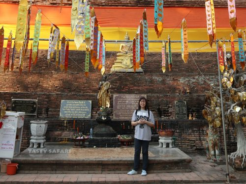 Alex Veneracion at Wak Lok Moli in Chiang Mai