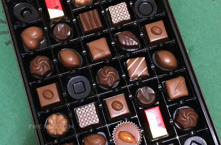 Box of chocolates is a common gift on Valentine's Day