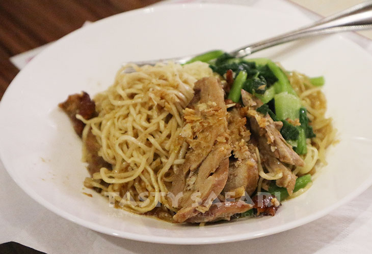 Duck and noodles. 7-11, Chiang Mai