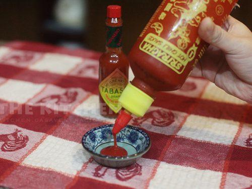Tabasco versus Sriracha