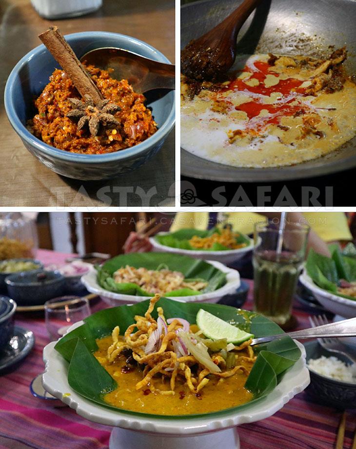 Khao soi (chicken curry noodle soup)