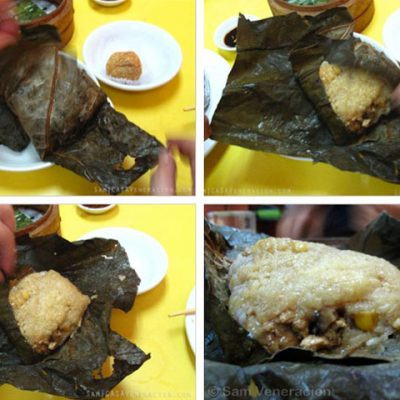 It's Machang in the Philippines. In China, is it Lo mai gai or Zongzi?