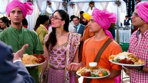 "Scene from ""3 Idiots"" 