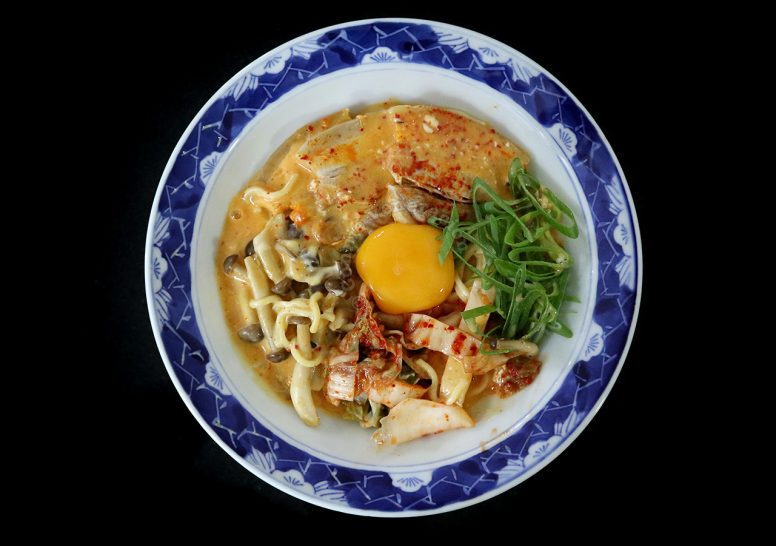 Cheese and Kimchi Ramen Recipe