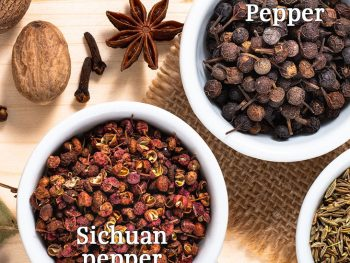 Peppercorn and Sichuan Pepper, Differentiated