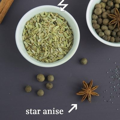 Anise / aniseed and star anise