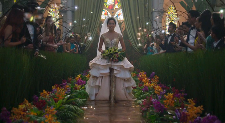 Wedding scene from Crazy Rich Asians | Image credit: Warner Bros. Pictures