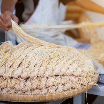 fresh Asian noodles