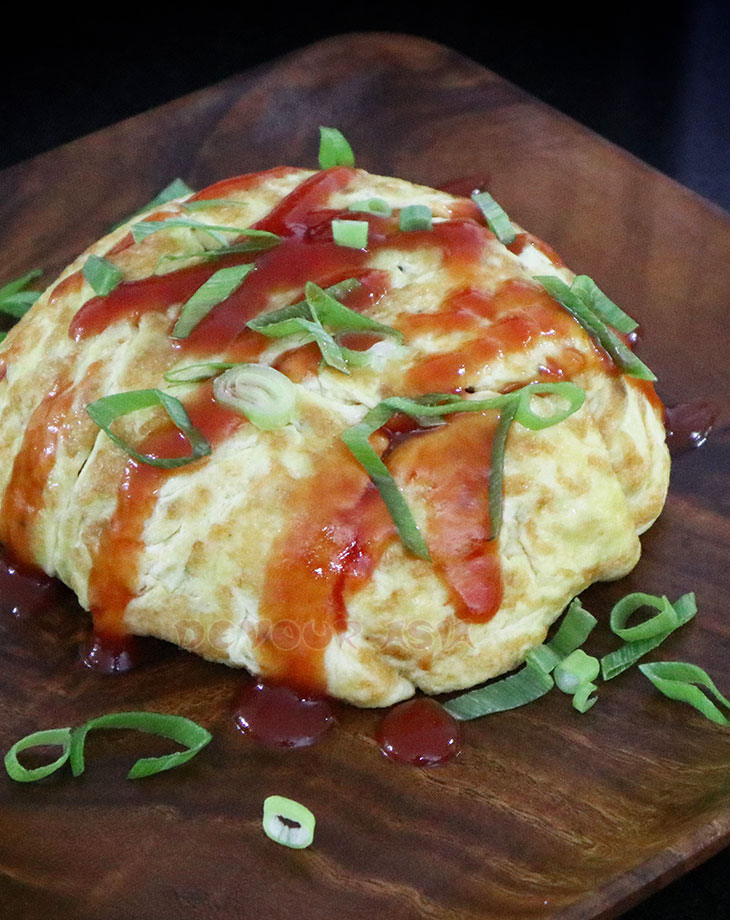 Korean omurice