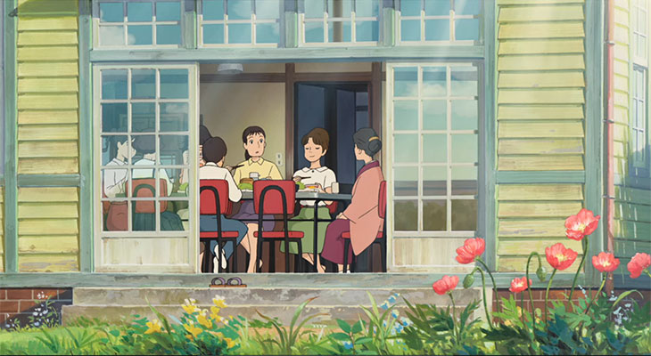 """Coquelicot Manor in """"From Up on Poppy Hill"""" 