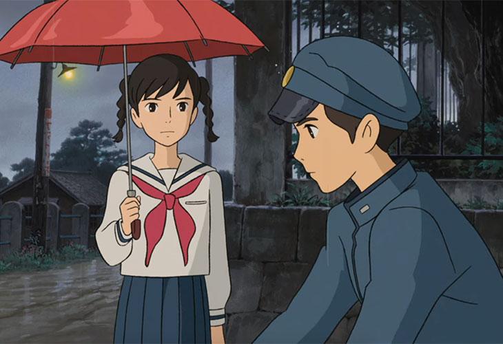 "Umi Matsuzaki and Shun Kazama in ""From Up on Poppy Hill"" | Image credit: Netflix"