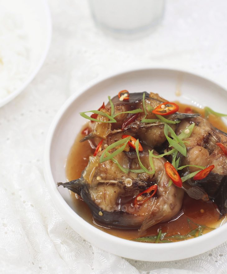 Vietnamese Catfish Braised in Caramel Sauce