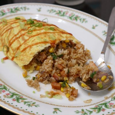 Omurice (Japanese / Korean omelet rice)
