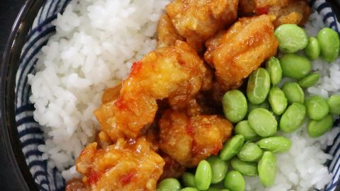 Sweet Chili Chicken Karaage