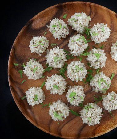 Chinese Sticky Rice Meatballs