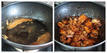 Reducing Sauce for Sticky Sichuan Pork