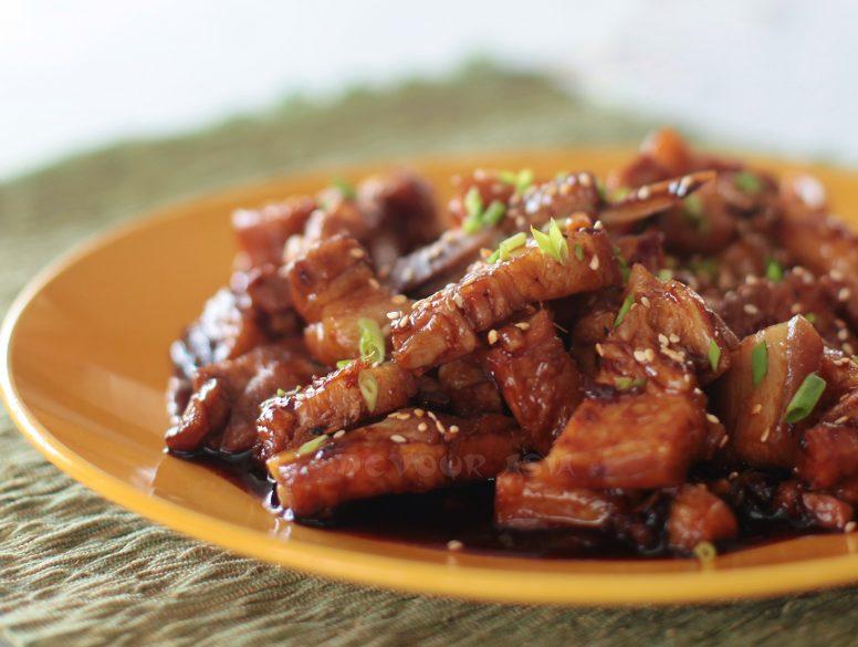 Sticky Sichuan Pork