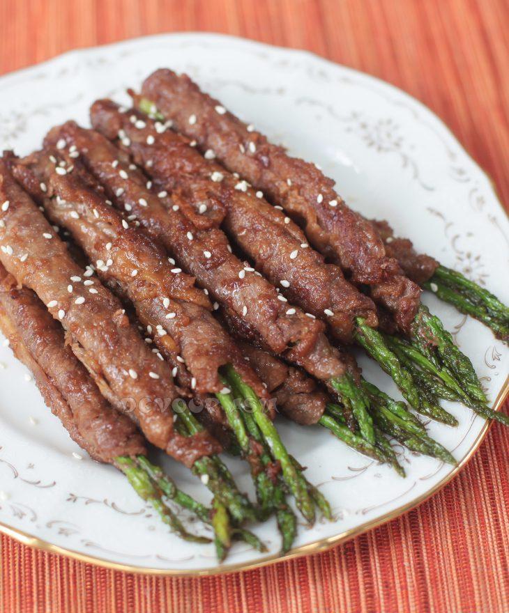 Teriyaki Beef Rolls