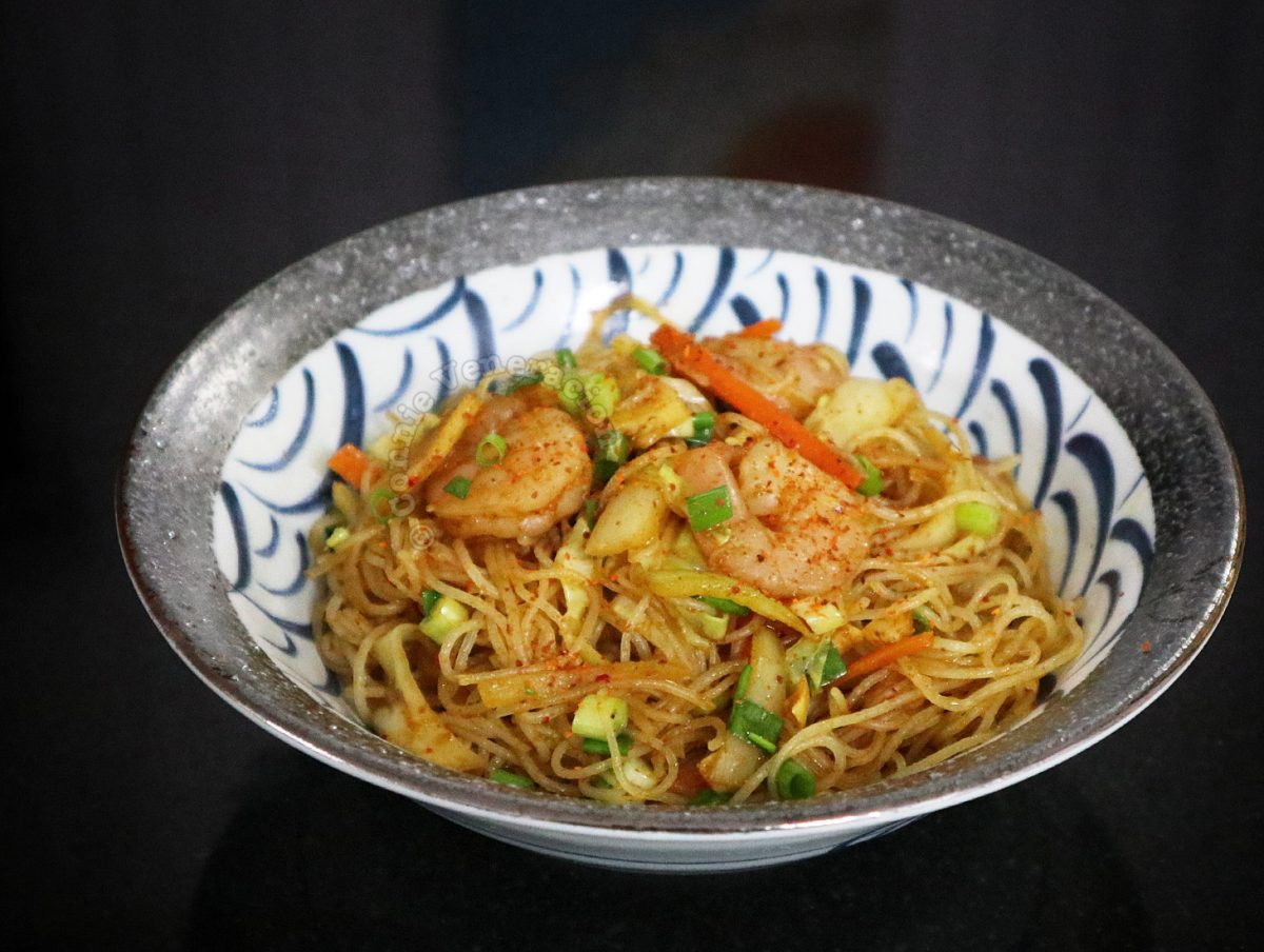 Singapore Noodles (Curry Bee Hoon)