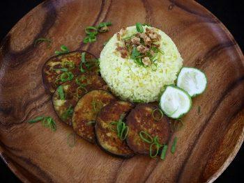 Garam Masala Eggplants
