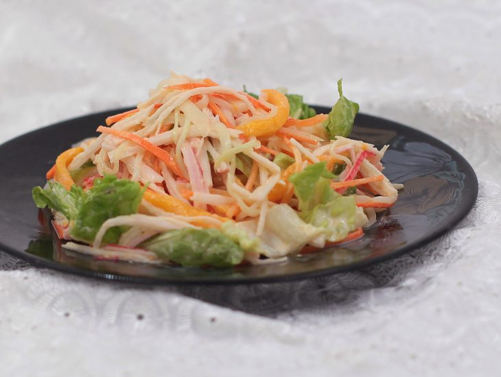 How to Make Kani Salad