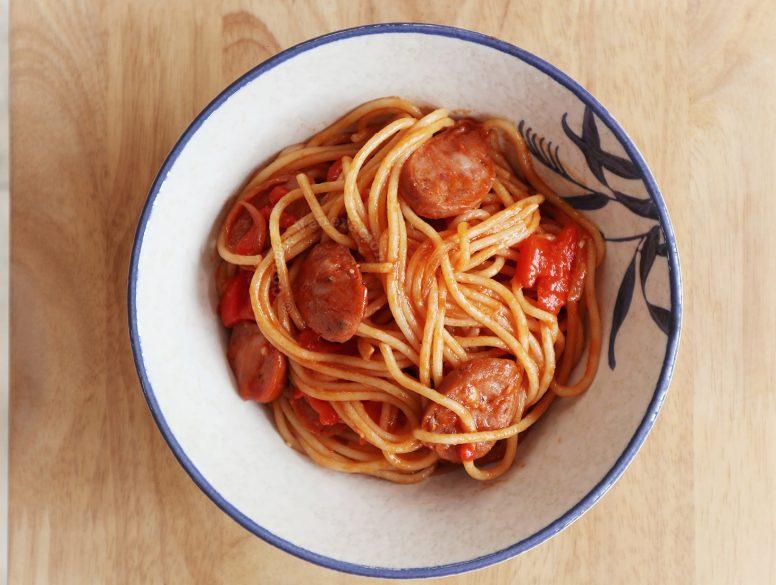 Japanese Ketchup Spaghetti Recipe