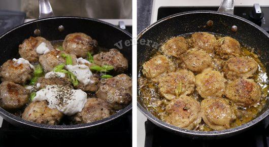 Yogurt-marinated Chicken Garam Masala Recipe, Step 5: Add pepper and garam masala