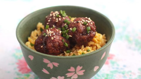 Shigureni Meatballs