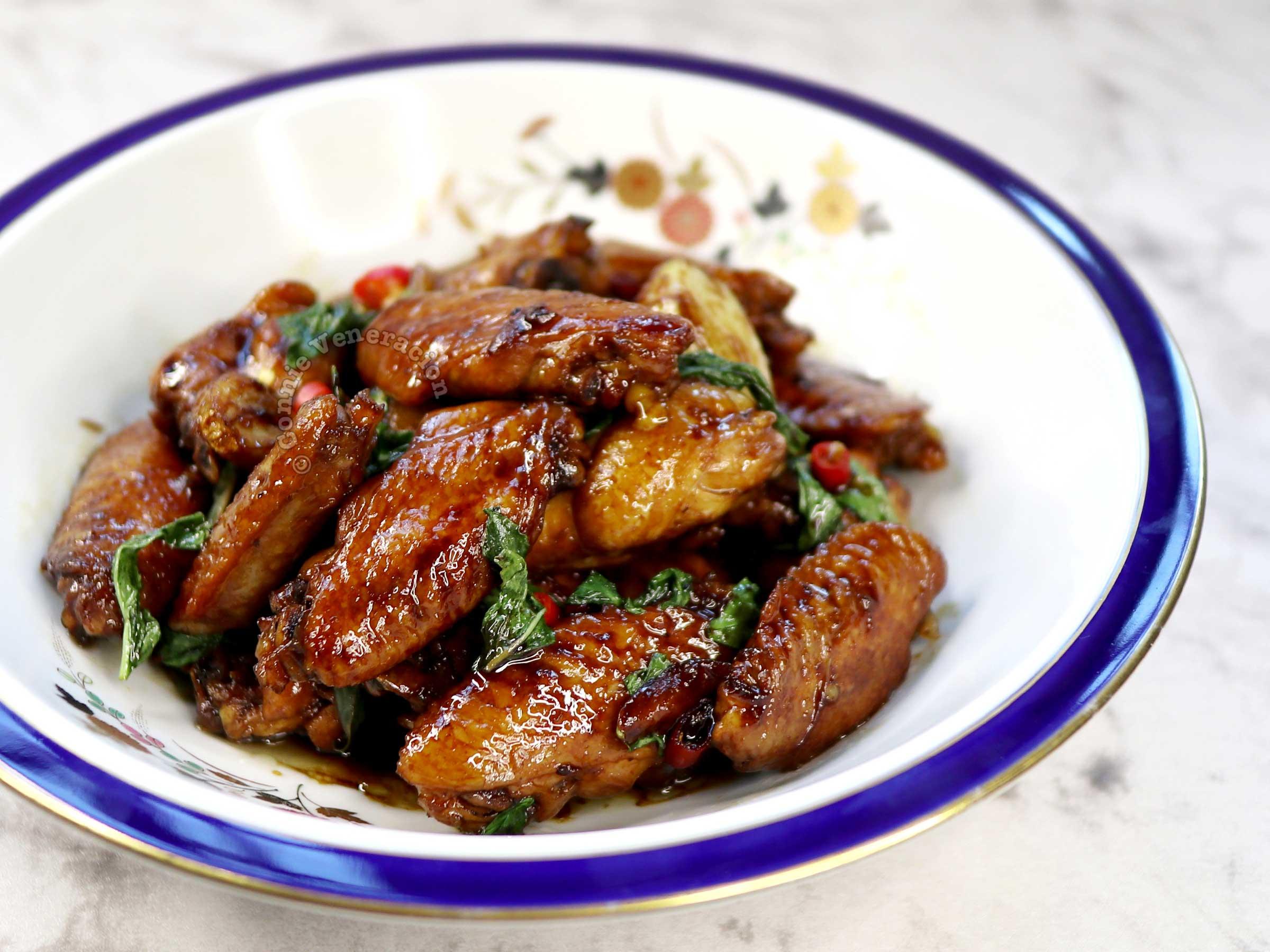 Taiwanese three-cup chicken (san bei ji) recipe