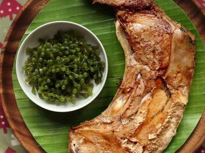 Inihaw na Panga ng Tuna (Grilled Tuna Collar)