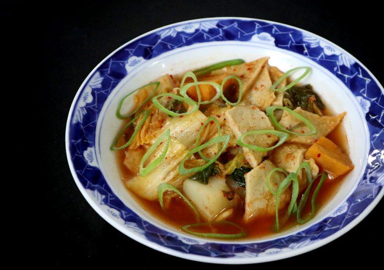 Fish Cakes and Kimchi Jiggae Recipe