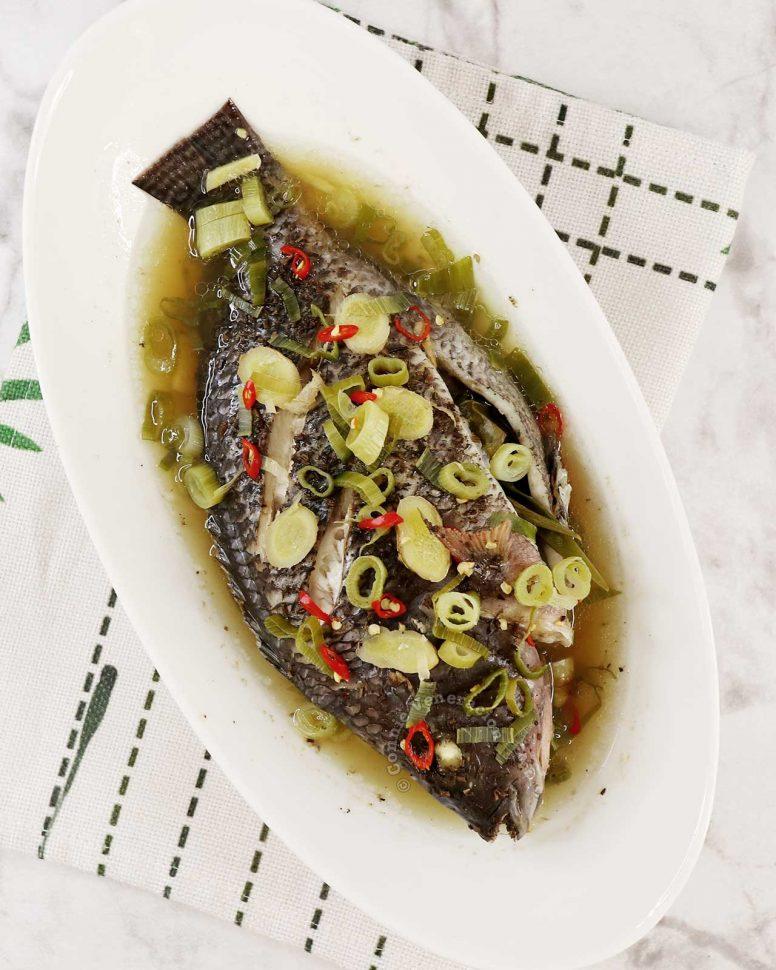 Steamed Whole Tilapia Recipe