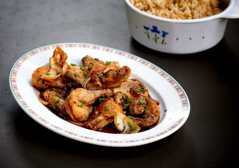 Sweet Chili Soy Sauce Chicken recipe