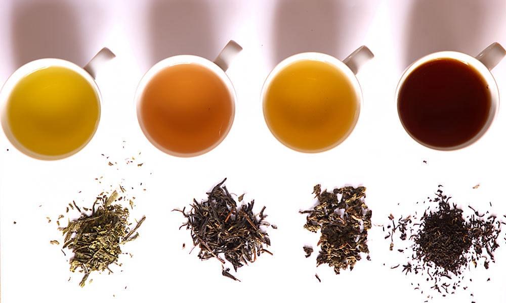 Tea grades: Leaves and brews
