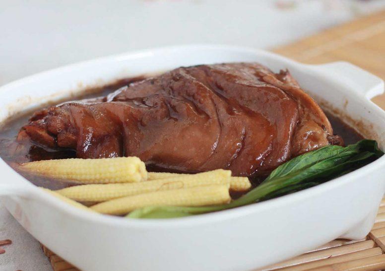 Chinese-style Braised Pork Leg