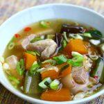 Gaeng Om (Thai herb soup / stew)