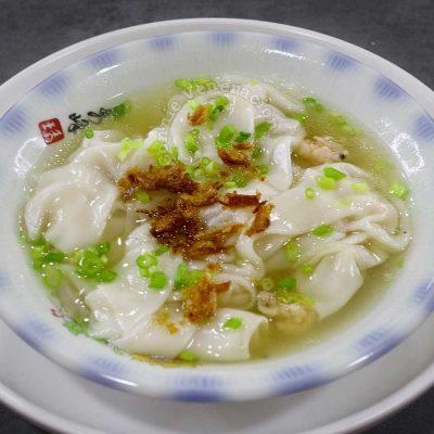 Filipino molo soup