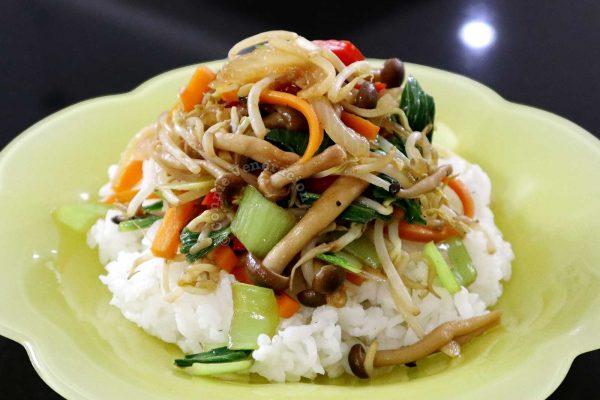 15-minute Mushroom and Vegetable Stir Fry