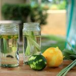 Herb-infused sugar syrup to sweeten iced tea