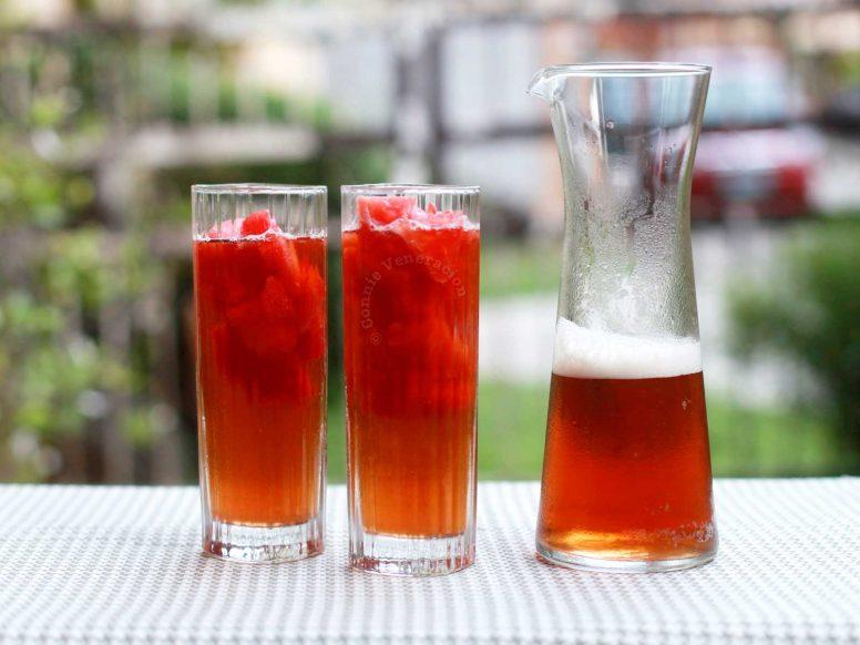 Watermelon iced tea