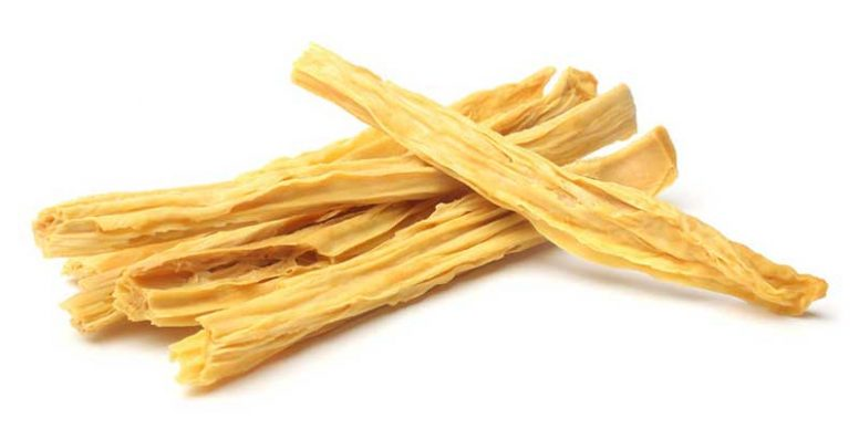 Dried tofu skin sticks (yuba)