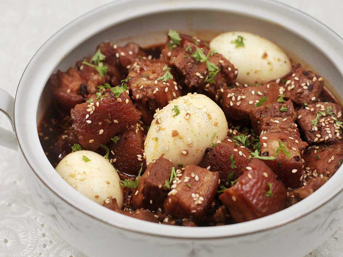Sweet Spicy Pork Stew