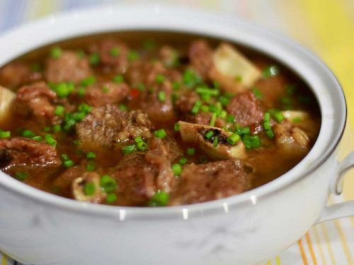 Chinese-inspired beef stew