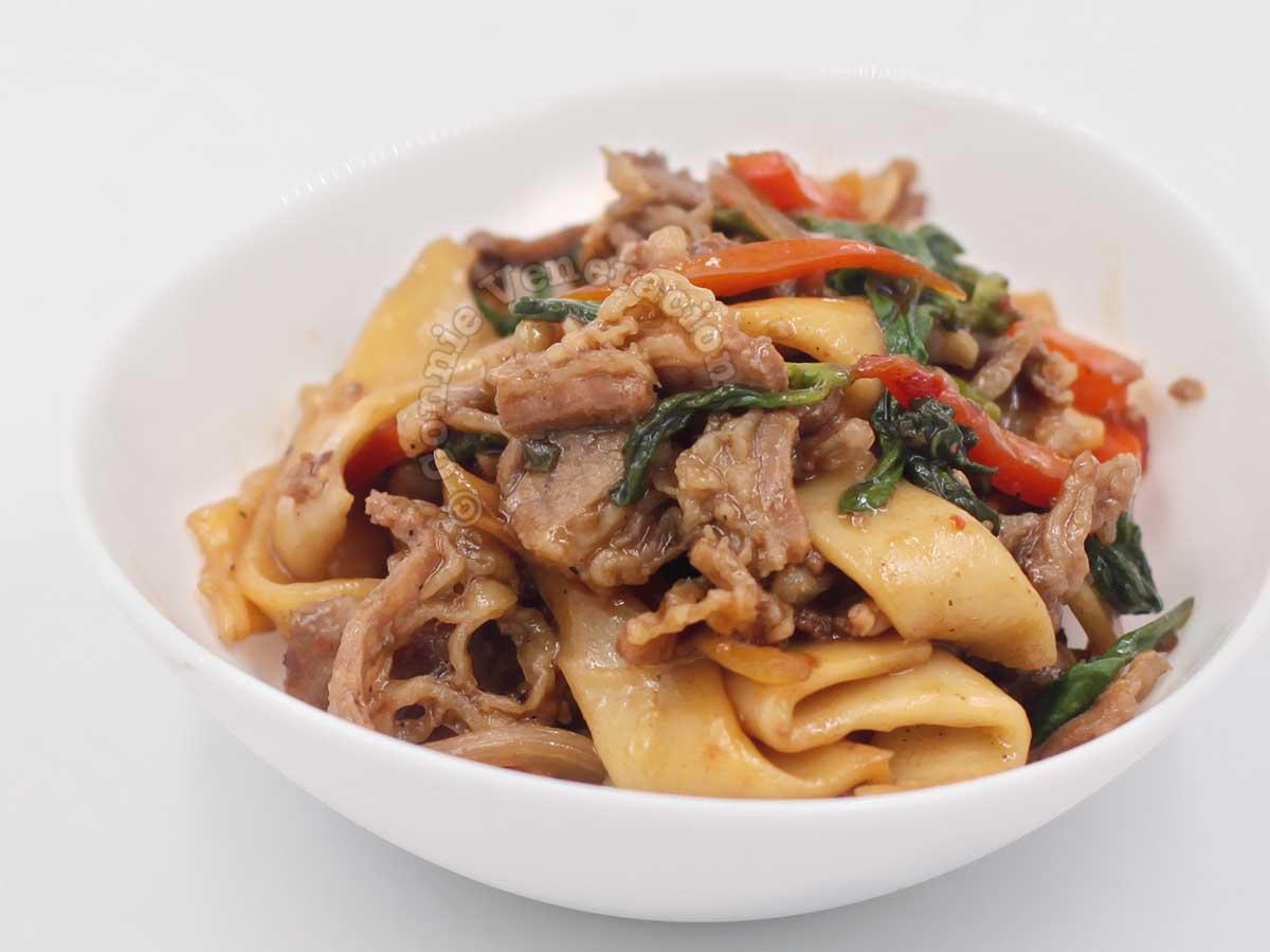 Lemongrass Chili Beef Noodles
