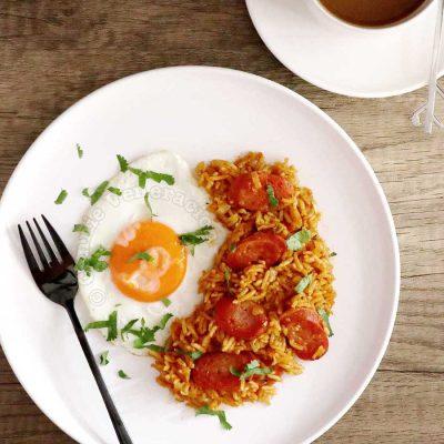 Chosilog (Chorizo, Garlic Fried Rice and Egg)
